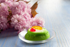 Marzipan cassata Royalty Free Stock Photo