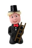 Marzipan chimney-sweep Stock Image