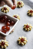 Marzipan confections Stock Photography