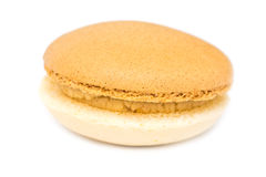 Marzipan French Macaroon Royalty Free Stock Photo