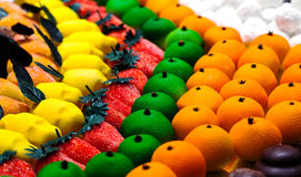Marzipan fruit Royalty Free Stock Image