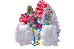 Marzipan house Stock Photography