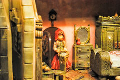 Marzipan Museum in Sant Andreu in Hungary. Royalty Free Stock Images