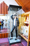 Marzipan Museum in Sant Andreu in Hungary. Chocolate figure of Michael Jackson Royalty Free Stock Images