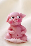 Marzipan pig Royalty Free Stock Photos