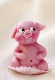 Marzipan pig Royalty Free Stock Photos