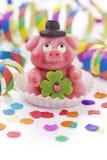 Marzipan pig Stock Image