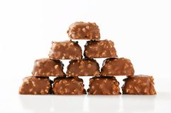 Marzipan pralines Royalty Free Stock Images