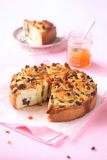 Marzipan Roll Cake Stock Images