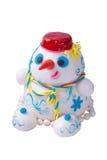 Marzipan Snowman Stock Photos