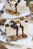 Marzipan Walnut Cake Stock Images
