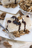 Marzipan Walnut Cake Royalty Free Stock Photo