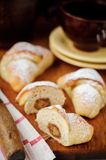 Marzipan Yeast Rolls Stock Images