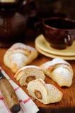 Marzipan Yeast Rolls Royalty Free Stock Photo