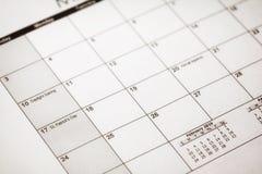 17 marzo calendario del giorno di Patrick San Patrick Day sul calendario immagini stock