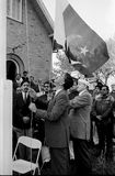 23 marzo celebrazione di giorno della repubblica di Pakistans in Danimarca Immagini Stock Libere da Diritti