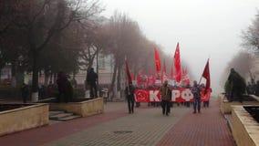 Marzo comunista in Orël archivi video