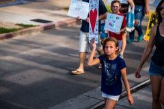 Marzo contro Racsim Tucson Immagine Stock