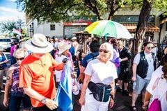Marzo contro Racsim Tucson Fotografie Stock