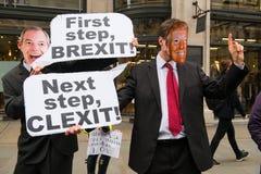 Marzo contro razzismo - Londra, Regno Unito fotografia stock libera da diritti