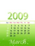 Marzo de 2009 Fotografía de archivo libre de regalías