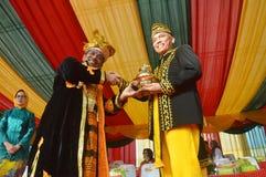 Marzo de la cultura del archipiélago - APEKSI 2018 en la ciudad de Tarakan Fotos de archivo
