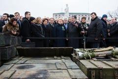 Marzo de la dignidad en Kyiv Imagen de archivo libre de regalías