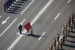 Marzo de la independencia en Kiev Fotos de archivo libres de regalías