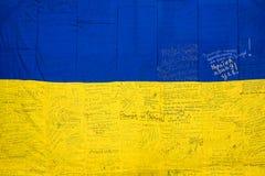 Marzo de la independencia en Kiev Foto de archivo