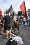 Marzo de la protesta contra represiones políticas Imagenes de archivo