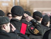 Marzo dei cadetti Fotografia Stock