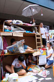 Marzo del 2011 di Hong Kong il 1° luglio Immagine Stock