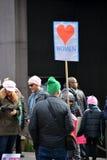 Marzo del ` s delle donne Immagine Stock Libera da Diritti