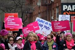 Marzo del ` s delle donne Fotografie Stock Libere da Diritti