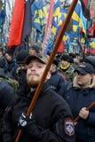Marzo di dignità nazionale in Kyiv Immagine Stock Libera da Diritti