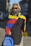 10 marzo giorno 2017 della rivolta nel Tibet, Berna switzerland Fotografia Stock Libera da Diritti