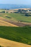 Marzo (Italia) - modific il terrenoare all'estate Immagine Stock Libera da Diritti