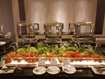 5 marzo Kuala Lumpir La prima colazione del buffet installata all'ibis disegna l'hotel Immagine Stock
