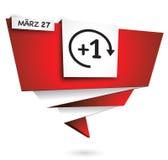 27 marzo, ora legale di tempo Fotografia Stock Libera da Diritti