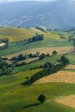 Marzo, paesaggio ad estate Fotografie Stock