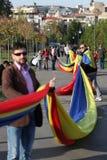 Marzo para Basarabia Foto de archivo