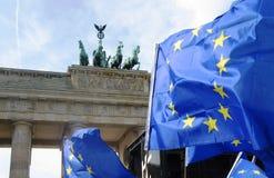 Marzo per Europa Berlino Immagini Stock Libere da Diritti
