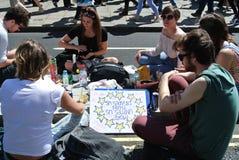 Marzo per Europa, Londra, luglio 2016 BRITANNICO Fotografia Stock