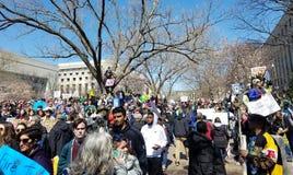 Marzo per le nostre vite marzo, 24 in Washington, DC Fotografia Stock