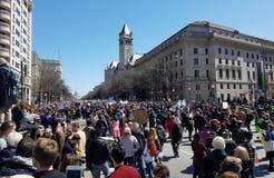 Marzo per le nostre vite marzo, 24 in Washington, DC Immagini Stock