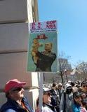 Marzo per le nostre vite marzo, 24 in Washington, DC Immagine Stock