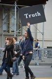 Marzo per scienza Fotografie Stock