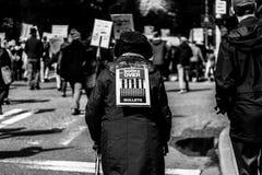 Marzo por nuestras vidas Seattle Foto de archivo