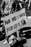 Marzo por nuestras vidas Seattle Imágenes de archivo libres de regalías