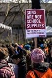 Marzo por nuestras vidas Seattle Foto de archivo libre de regalías